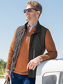 Men's London Fog Quilted Vest
