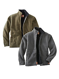 Men's Summit Fleece-Lined Jacket by Outback Trading Company