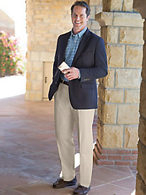 Men's Haggar Travel Blazer Outfit