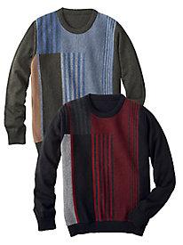 Men's Colorblock Stripes...