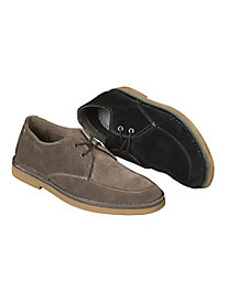 Men's Hush Puppies Mercer Durable Suede Oxfords