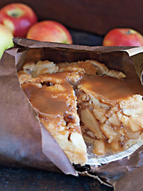 Caramel Apple Pie Baked in a Bag by Norm Thompson