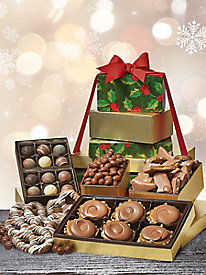 5 Story Chocoloate Lovers Gift Tower