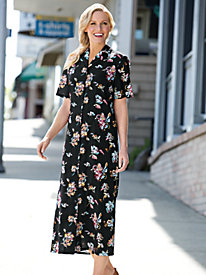 Women's Floating Flower Dress