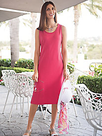 Women's Prima Cotton Tank Dress