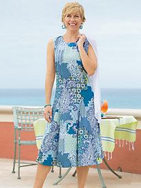 Women's Sun-Loving Sleeveless Dress