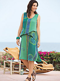 Women's Bali Batik Dress