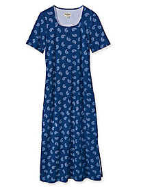 Women's Prima Cotton Paisley Print Dress
