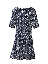 Women's Sweeping Circles Dress