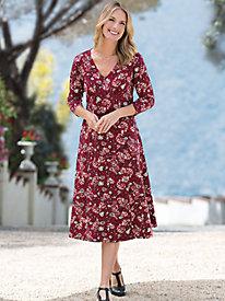 Women's Calissa Floral Swirl Dress