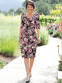 Women's Plumeria Pullover Dress