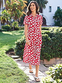 Women's Travel Sprightly Floral Dress
