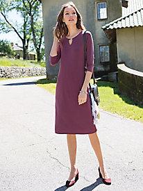 Women's Nina Leonard Jersey Dress