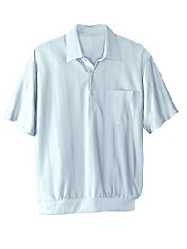 Men's Double-Knit Banded Bottom Shirt