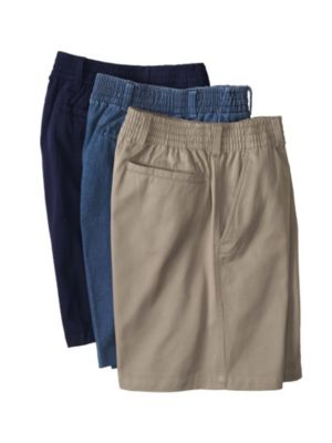 Elastic Waist Mens Shorts