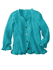 Women's Pucker-Rayon Shirt