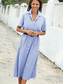 Women's Norm Thompson Seersucker Dress