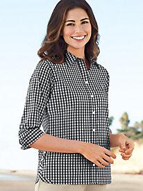 Women's Foxcroft Charming Checks Shirt