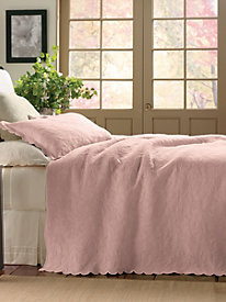 Orchid Coverlet