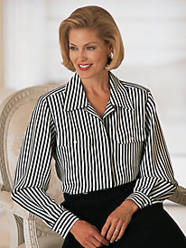 Striped Blouse by Mark Reed®