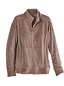 Lake Zurich Quilted Jacket By Alfred Dunner®