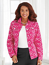 Novelty Print Jacket