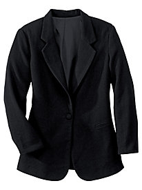 Lined Wool-Blend Jacket