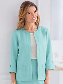 Ladies Who Lunch Style Jacket By Alfred Dunner® by Old Pueblo Traders