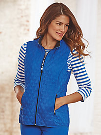 Quilted Vest By Alfred Dunner®