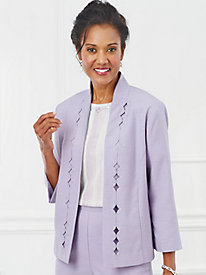 Roman Holiday Cutout Jacket By Alfred Dunner®