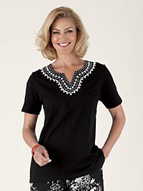 French Rivera Top by Alfred Dunner®