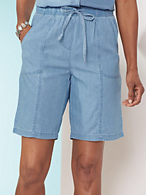 Chambray Shorts By Koret�