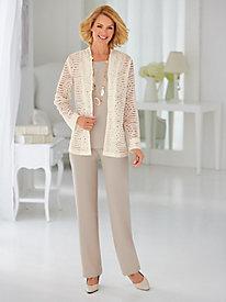 Lace Pants Set By Koret®