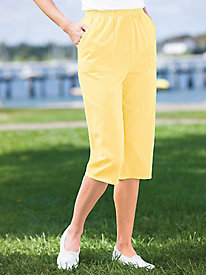 Cotton Twill Capris By Koret®