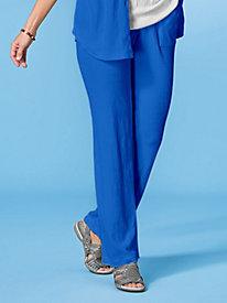 Stretch Knit Gauze Pants by Koret®