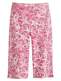 Acapulco Starfish Print Capris By Alfred Dunner®