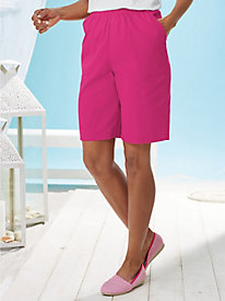 Cotton Twill Shorts By Koret®