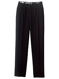 Belted Bi-Stretch Pants By Koret®