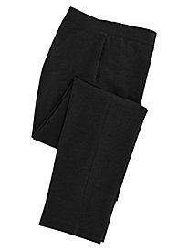 Comfort-Waist Knit Pants