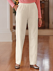 Women's Casual Pull On & Wide Waistband Dress Pants | Bedford Fair