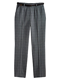 Briggs Belted Plaid Pants