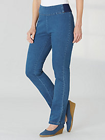 Waist- Smoothing Jeans By Bend Over®