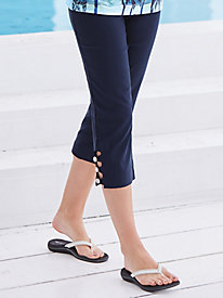 Palm Beach Slimmer Capris By Koret®