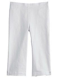 Lady Liberty Solid Capris By Alfred Dunner®