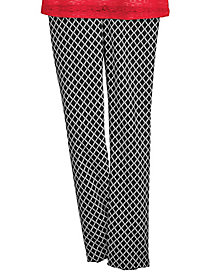 Ethnic Beat Style Print Pants by Alfred Dunner®