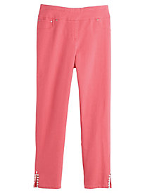 Ruby Rd. Ti Amo Extra Stretch Denim Ankle Pants