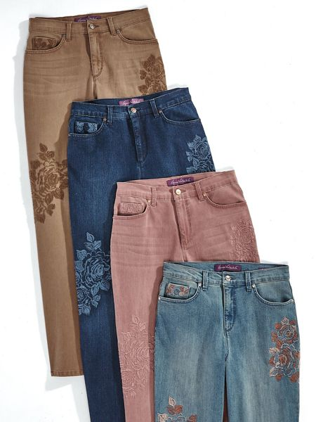 fab9524396f116 Amanda Embroidered Jeans By Gloria Vanderbilt® | Old Pueblo Traders