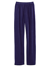 Alfred Dunner® Family Jewels Velour Pants