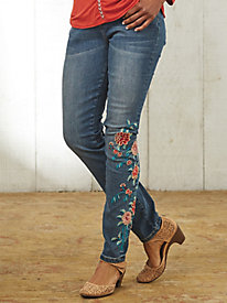 Sedona Spring Embroidered Jeans By Koret®