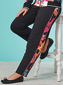 Tropical Twist French Terry Pants By Ruby Rd.®